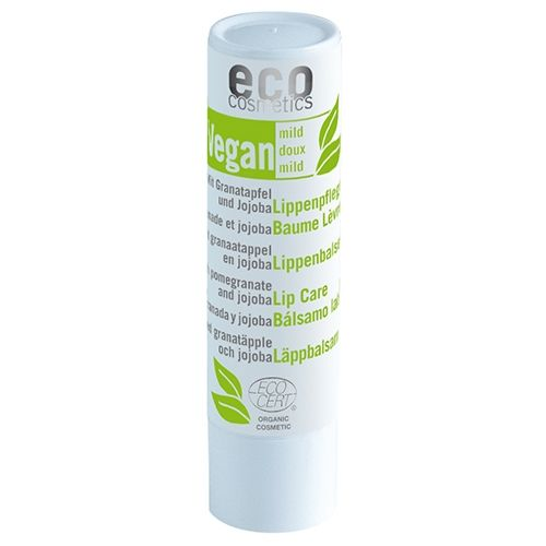 Balsam de Buze Bio Vegan cu Rodie și Jojoba, 4g | Eco Cosmetics