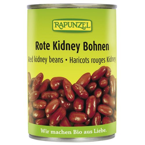 Fasole Kidney rosie in doza 400g | Rapunzel