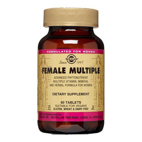 Female Multiple (Multivitamine și Minerale Pentru Femei), 60 tablete | Solgar