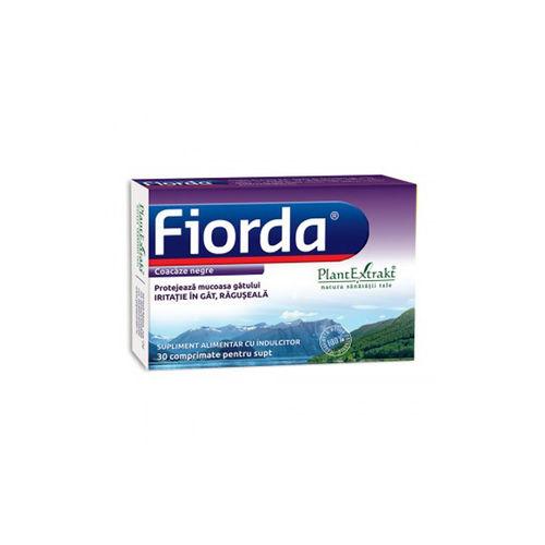 FIORDA -  Comprimate cu Aromă de Coacăze Negre, 30 cmp | Plantextrakt