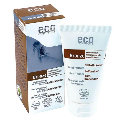 Fluid Autobronzant Bio Pentru Față și Corp cu Rodie și Extract de Goji, 75ml   Eco Cosmetics