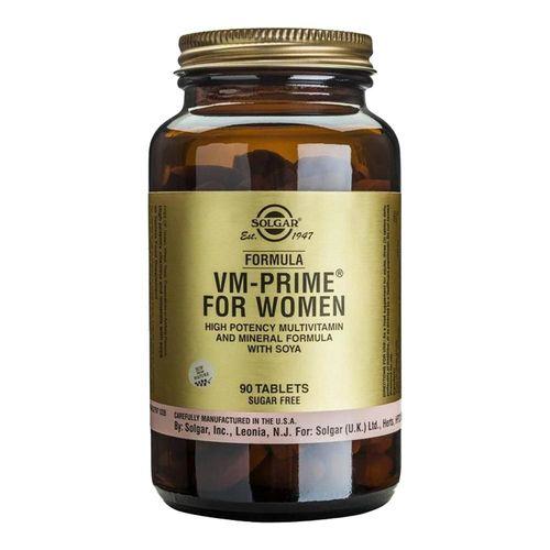 Formula VM Prime for Women (Multivitamine și Minerale Pentru Femei), 90 tablete   Solgar
