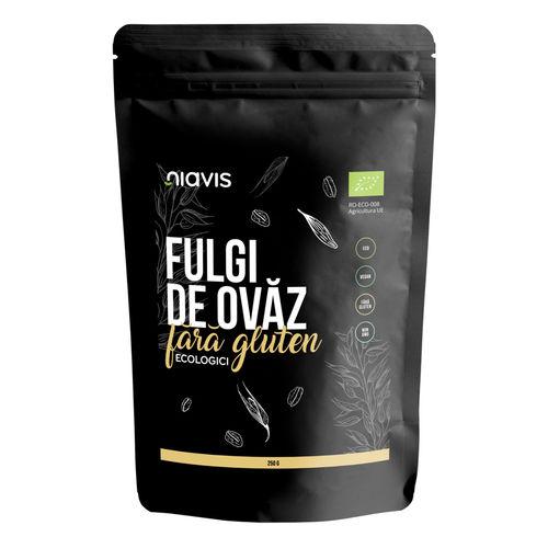 Fulgi de Ovăz Ecologici Fără Gluten 250g   Niavis