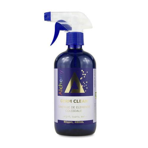 Germ Clean, sinergie de argint, cupru și aur coloidal 50ppm | Pure Alchemy