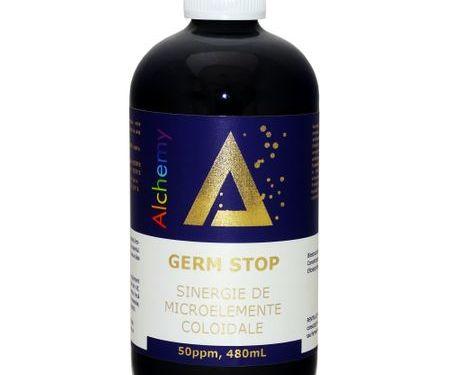 Germ Stop, sinergie de argint, cupru si aur coloidal 50ppm | Pure Alchemy