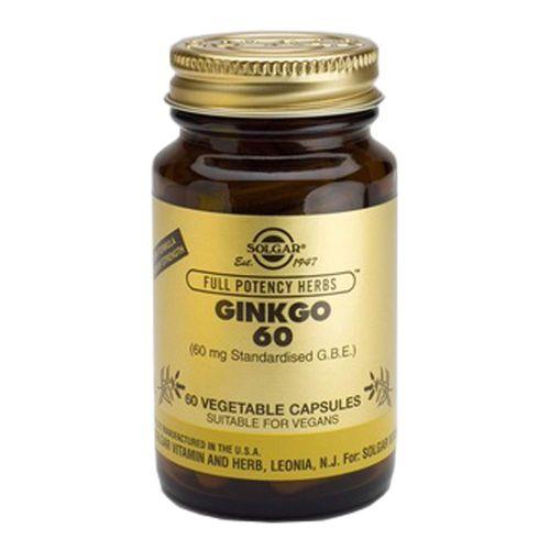 Ginkgo 60 (Ginkgo Biloba), 60 capsule | Solgar