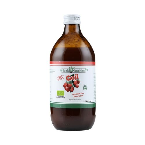 Suc de Goji 100% Pur, Bio, 500 ml | Health Nutrition