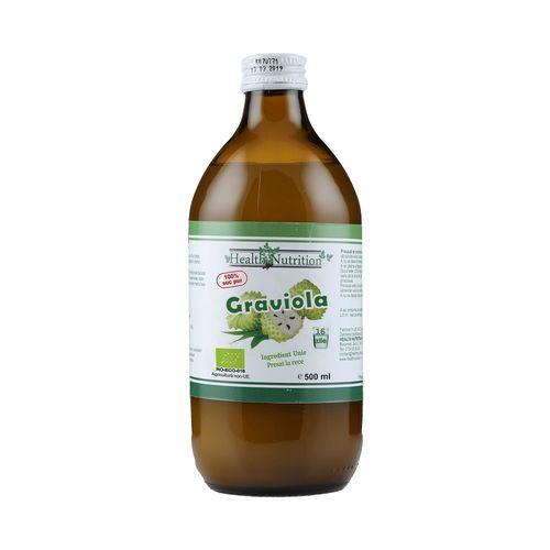 Suc de Graviola 100% Pur, Bio, 500 ml | Health Nutrition