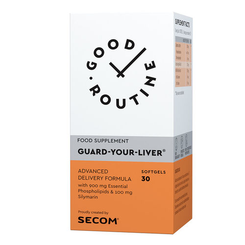 Guard Your Liver Good Routine, 30 capsule moi | Secom
