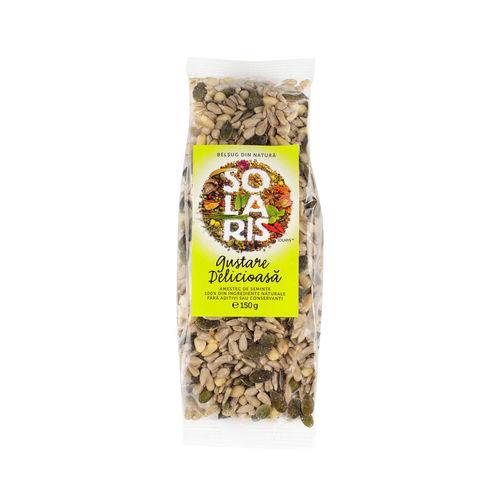 Gustare Delicioasă - Amestec de Semințe, 150g   Solaris