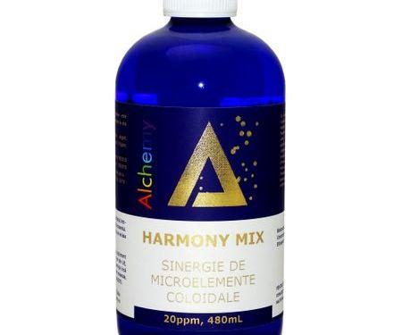 Harmony Mix, sinergie de argint, magneziu si cupru coloidal 20ppm | Pure Alchemy
