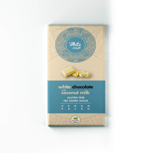 White Delight ciocolată albă, 80g | Health Market