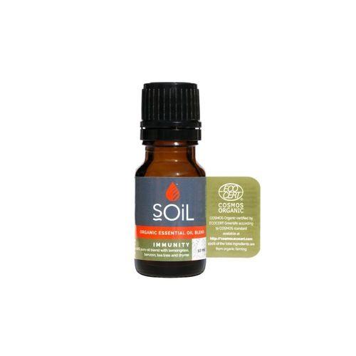 Amestec de Uleiuri Esențiale Immunity Pure 100% Organice ECOCERT 10 ml | SOiL