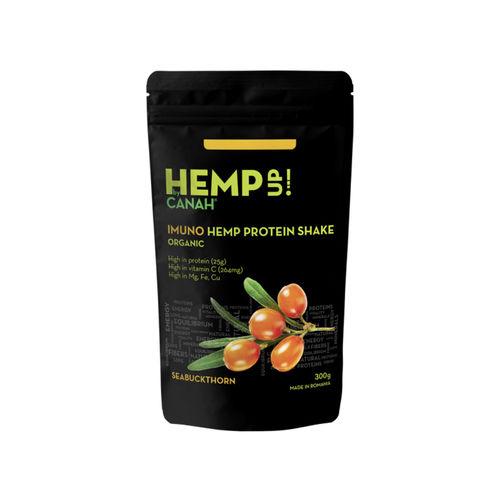 Shake Proteic de Cânepă și Cătină ECO IMUNO Hemp Up, 300g   Canah