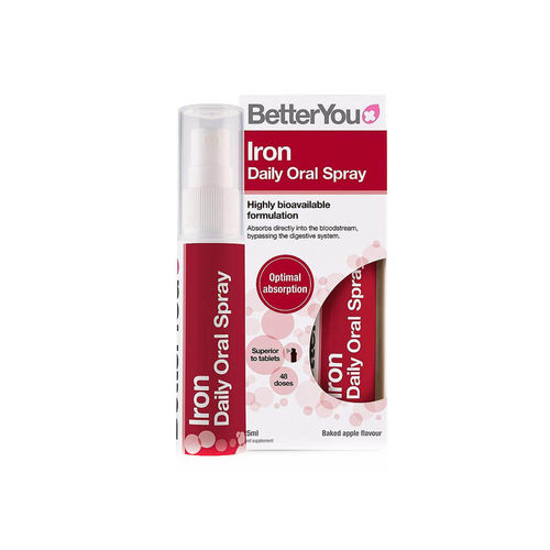 Iron Oral Spray, 25ml | BetterYou