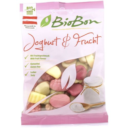 Jeleuri cu iaurt si fructe 100g | Biobon
