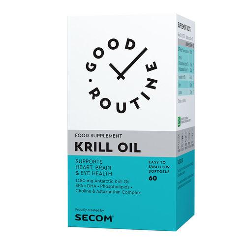Krill Oil Good Routine, 60 capsule moi | Secom
