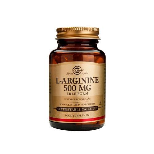 L- Arginine 500mg, 50 capsule | Solgar