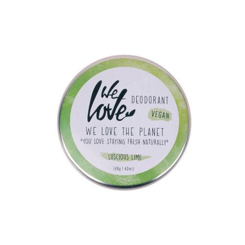Deodorant Natural Cremă - Luscious Lime - Vegan - Cutie Metalică, 48g   We Love The Planet