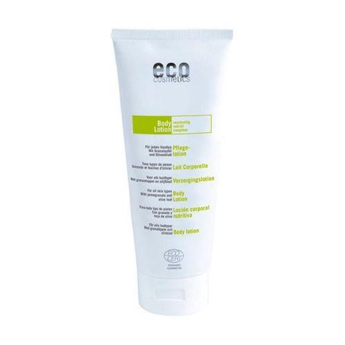 Loțiune de Corp Super Hidratantă cu Ulei de Măsline și Rodie, 200ml | Eco Cosmetics