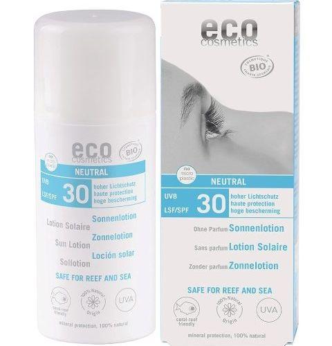 Loțiune Fluidă de Protecție Solară FPS30 Fără Parfum, 100ml | Eco Cosmetics