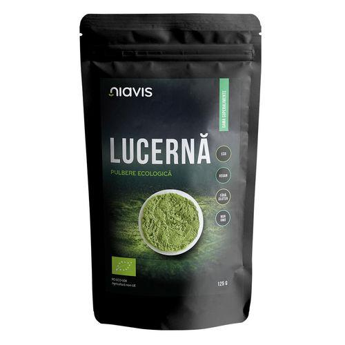 Lucernă (Alfalfa) Pulbere Ecologică/Bio 125g | Niavis