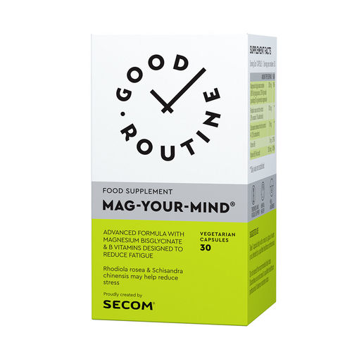 Mag Your Mind Good Routine, 30 capsule vegetale | Secom