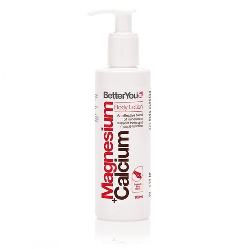 Magnesium + Calcium Body Lotion, 180ml | BetterYou