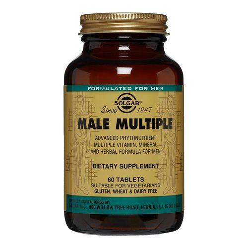 Male Multiple (Multivitamine și Minerale Pentru Bărbați), 60 tablete | Solgar