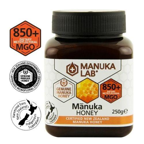 Miere de Manuka, MGO 850+ Noua Zeelandă Naturală, 250g   MANUKA LAB