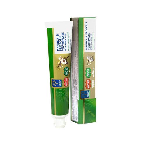 Pastă de dinți cu Miere de Manuka MGO™ 400+, Propolis BIO30™ și Ulei de Manuka 100g | Manuka Health