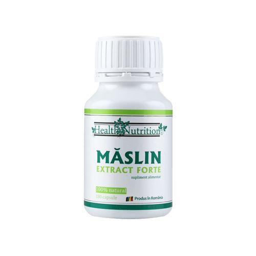Măslin Extract Forte, 100% natural, 180 capsule | Health Nutrition