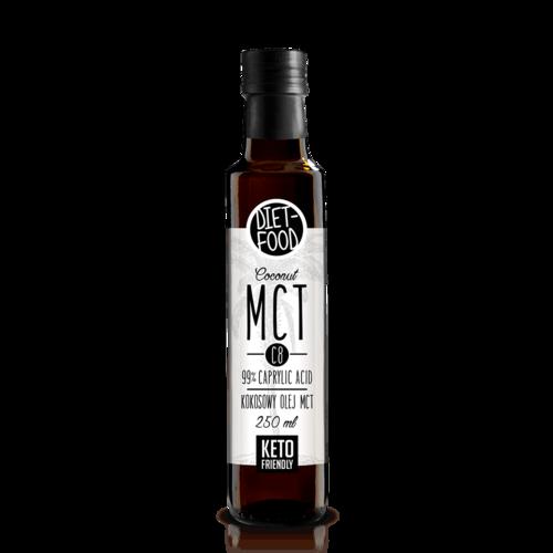 Ulei de Cocos MCT C8, 250ml | Diet-Food