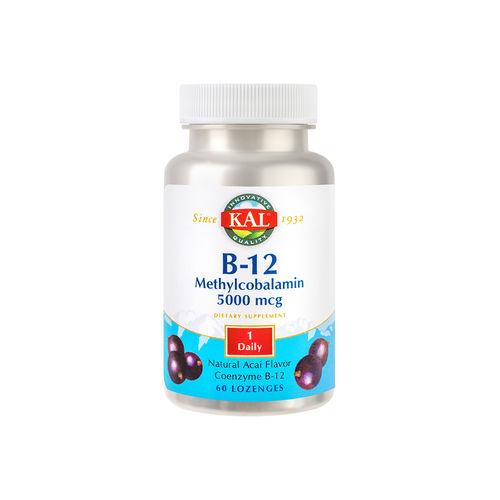 Methylcobalamin (Vitamina B12) 5000mcg, 60 comprimate | Secom