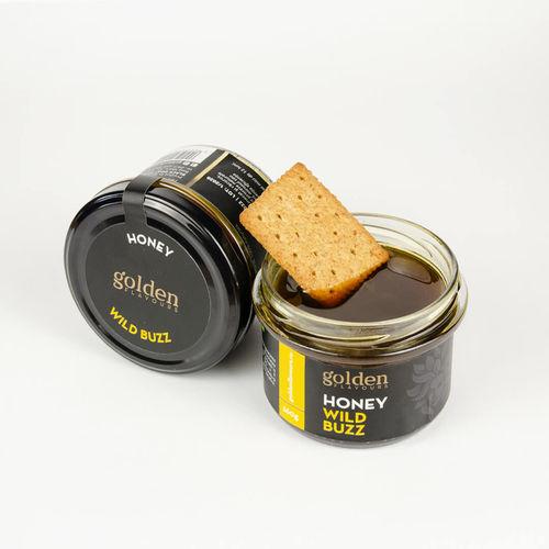 Miere de mană WILD BUZZ, 260g | Golden Flavours