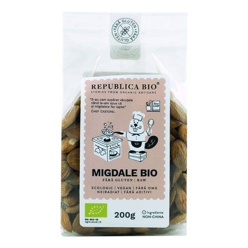 Migdale Bio Fără Gluten, 200g | Republica BIO