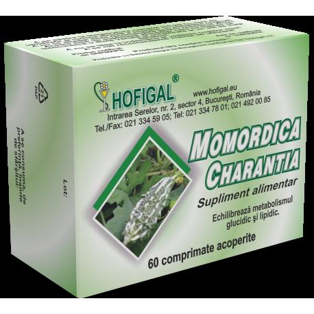 Momordica (Castravete amar) 500mg, 60 comprimate | Hofigal