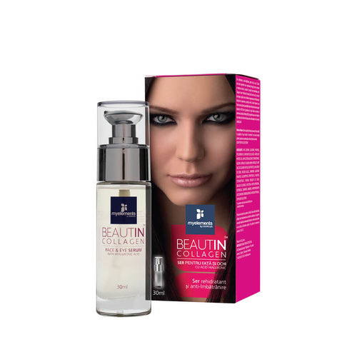Beautin™ Collagen Ser pentru Ten şi Ochi 30ml | Myelements