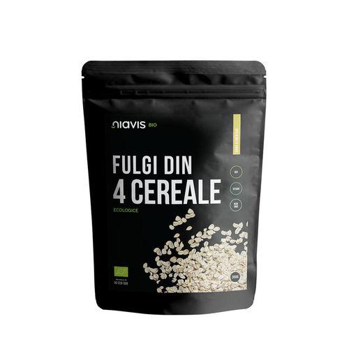 Fulgi din 4 Cereale Ecologice/Bio 350g | Niavis