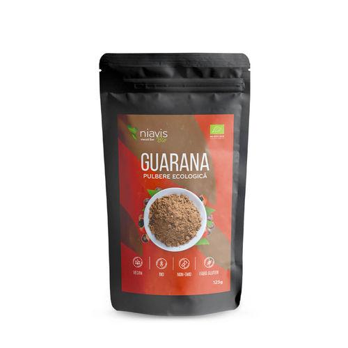 Guarana Pulbere Ecologică/Bio 125g | Niavis