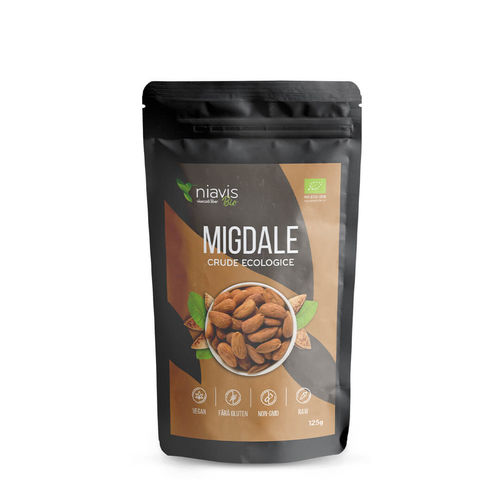 Migdale Crude Ecologice/Bio 125g | Niavis