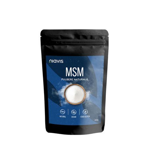 MSM Pulbere 100% Naturală 250g Niavis