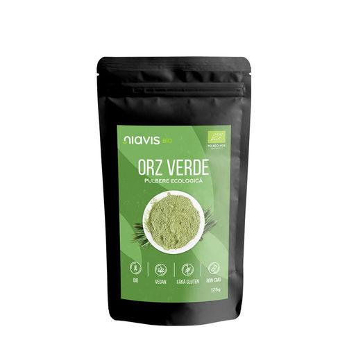 Orz Verde Pulbere Ecologică/Bio 125g | Niavis