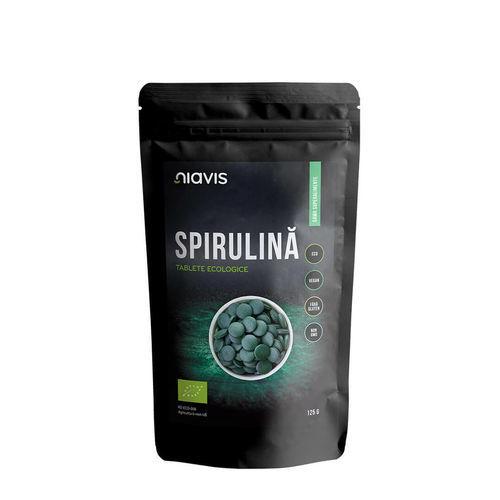 Spirulină Tablete Ecologice/Bio 125g | Niavis