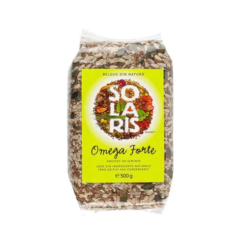 Omega Forte - Amestec de Semințe, 500g   Solaris