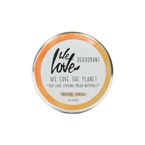 Deodorant Natural Cremă  - Original Orange - Cutie Metalică, 48g   We Love The Planet