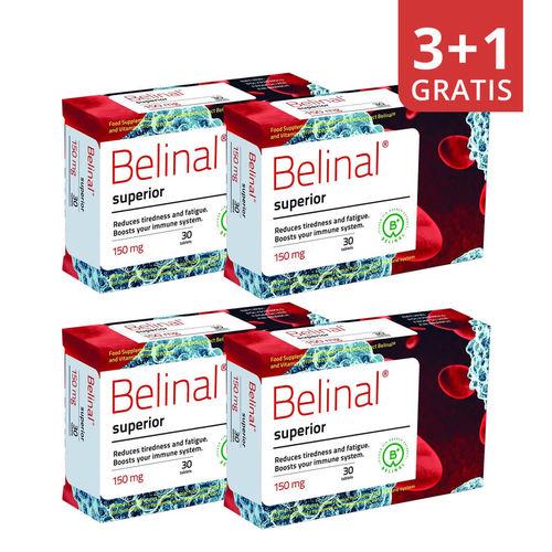 Pachet 3+1 Gratis Belinal Superior, 30 comprimate | Abies Labs