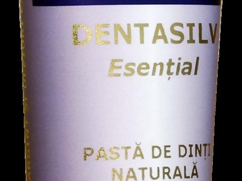 Pastă de dinți multiplu efect, DentaSilv Esențial | Pure Alchemy