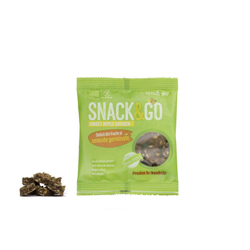 Snack & Go Sweet Apple Garden 40g | Petras Bio