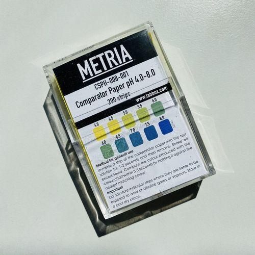 Benzi Testare pH 4-8, 200 benzi | Metria